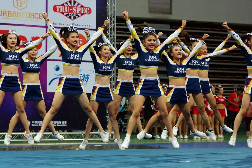 2015全國啦啦隊錦標賽指定動作中學組第一名