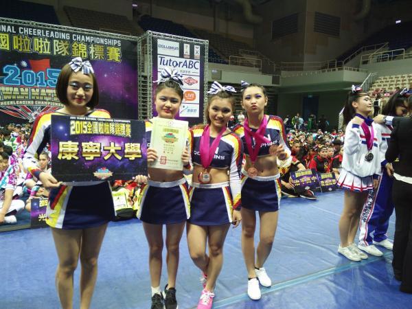 2015全國啦啦隊錦標賽四人技巧高中女子組第三名